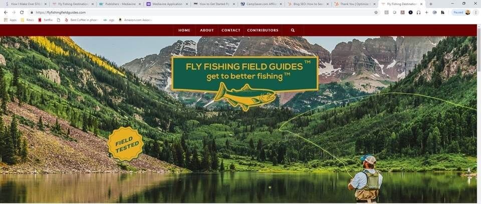 fly fishing field guides website