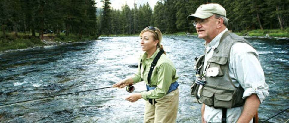 fishing instructor